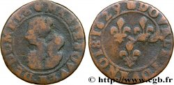 PRINCIPAUTY OF DOMBES - MARIE OF BOURBON-MONTPENSIER Double tournois SGE/fS