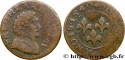 PRINCIPAUTY OF ORANGE - FREDERIC-HENRY OF NASSAU Double tournois, type 4 MB