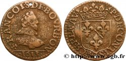 PRINCIPAUTY OF CHATEAU-REGNAULT - FRANCOIS OF BOURBON-CONTI Liard, type 2 SS