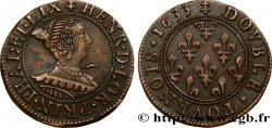 PINCIPAUTY OF PHALSBOURG AND LIXHEIM - HENRIETTE OF LORRAINE Double tournois