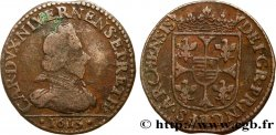 ARDENNES - PRINCIPAUTY OF ARCHES-CHARLEVILLE - CHARLES I OF GONZAGUE Liard, type 3B