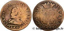 ARDENNES - PRINCIPAUTY OF ARCHES-CHARLEVILLE - CHARLES I OF GONZAGUE Liard, type 3