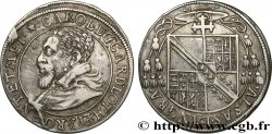 ALSACE - BISHOPRIC OF STRASBOURG AND METZ - CHARLES II OF LORRAINE-VAUDÉMONT Teston ou quart de thaler