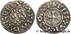 LIMOUSIN - LIMOGES - COINAGE IMMOBILIZED IN THE NAME OF EUDES Denier