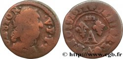 DOMBES - PRINCIPALITY OF DOMBES - GASTON OF ORLEANS Denier tournois, type 13