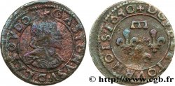 PRINCIPAUTY OF DOMBES - GASTON OF ORLEANS Double tournois, type 14