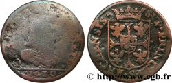 ARDENNES - PRINCIPAUTY OF ARCHES-CHARLEVILLE - CHARLES I OF GONZAGUE Liard, type 3A