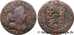 ARDENNES - PRINCIPAUTY OF ARCHES-CHARLEVILLE - CHARLES I OF GONZAGUE Liard, type 4