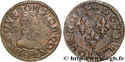 PRINCIPAUTY OF CHATEAU-REGNAULT - FRANCOIS OF BOURBON-CONTI Double tournois, type 14