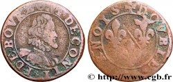 PRINCIPALITY OF CHATEAU-REGNAULT - FRANCIS OF BOURBON-CONTI Double tournois, type 13