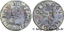 PRINCIPALITY OF CHATEAU-REGNAULT - FRANCIS OF BOURBON-CONTI Double tournois, type 18