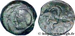 GALLIA BELGICA PAGUS CATUSLUGI - Sanctuary of BOIS LABBÉ (Seine-Maritime) Bronze VIIRICIVS, classe I