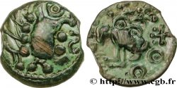 GALLIEN - SENONES (Region die Sens) Bronze YLLYCCI à l'oiseau, classe VI fVZ