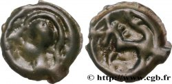 SENONES (Area of Sens) Potin à la tête casquée et à la rosace VF