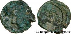 GALLIEN - SANTONES / MITTELWESTGALLIEN - Unbekannt Bronze au lion VRIDO.RVF