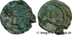 GALLIA - SANTONES / MID-WESTERN, Unspecified Bronze au lion VRIDO.RVF