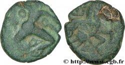 GALLIA BELGICA - BELLOVACI (Area of Beauvais) Bronze au personnage courant