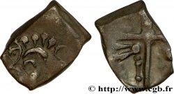 """CADURQUES (région de Cahors) Drachme  """"à la tête triangulaire"""", assimilée"""