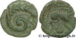 GALLIEN - CALETI (Region die Pays de Caux) Bronze au monstre enroulé