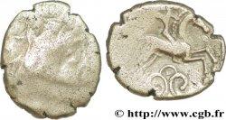 PICTONS (Région de Poitiers) Drachme au cavalier ailé - trésor d'Ouzilly