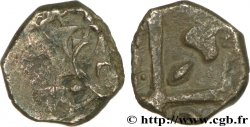 "GALLIA - SOUTH WESTERN GAUL - VOLCÆ TECTOSAGES (Area of Toulouse) Drachme ""à la tête cubiste"", S. 20"