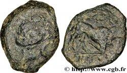 MASSALIA - MARSEILLE Petit bronze au taureau (hémiobole ?)