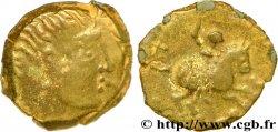 PARISII (Région de Paris) Bronze ECCAIOS, au cavalier