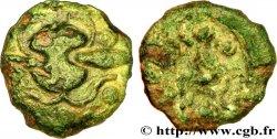 GALLIEN - BELGICA - AMBIANI (Region die Amiens) Bronze au bucrane fSS