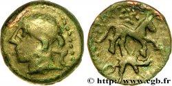 GALLIA - CARNUTES (Regione della Beauce) Bronze au cheval et au sanglier