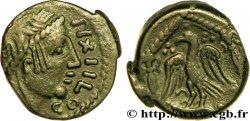 CARNUTES (Région de la Beauce) Bronze PIXTILOS classe VIII à l'oiseau dans le temple