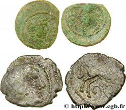 Gaule Celtique Lot d'une drachme et d'un bronze CONTOVTOS