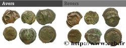 Gaule Belgique / Celtique Lot de 2 bronzes et 4 potins lot