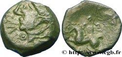 GALLIEN - BELGICA - MELDI (Region die Meaux) Bronze ROVECA, classe IIIa