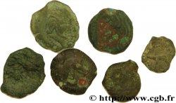 BITURIGES CUBI, UNSPECIFIED Lot de Six bronzes variés - de Levroux