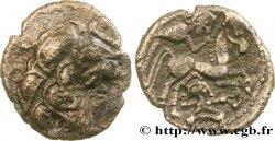 GALLIA - SANTONES / MID-WESTERN, Unspecified Drachme d'argent à lhippophore VF/AU