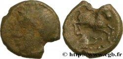 GALLIA - SANTONES / MID-WESTERN, Unspecified Petit billon au cheval et aux triskèles BN. 3844