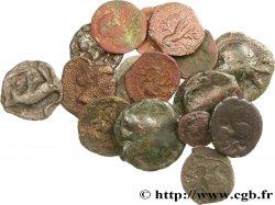 PICTONES / MITTELWESTGALLIEN, UNBEKANNT Lot de 17 monnaies gauloises lot