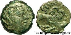 SÉNONS (région de Sens) Bronze GIAMILOS / SIINV à l'oiseau