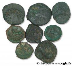 Gallo-Belgian / Celtic Lot de 8 bronzes variés