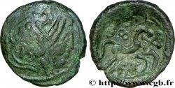 AMBIENS (Région dAmiens) Bronze du type du denier scyphate BN. 8500