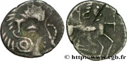 GALLIEN - ARMORICA - CORIOSOLITÆ (Region die Corseul, Cotes dArmor) Quart de statère de billon, classe Vb