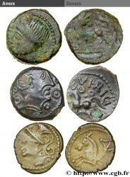 Gaule Belgique / Celtique Lot de 2 bronzes et un denier lot