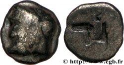 MASSALIA - MARSEILLE Litra du type du trésor dAuriol à la tête dArtémis