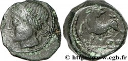 CARNUTES (Région de la Beauce) Bronze PIXTILOS classe II à la louve et au lézard