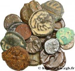 Gaule Lot de 16 monnaies variée en argent, bronze et potin