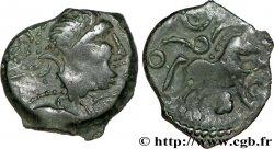 RÉGION PARISIENNE Bronze à la tête casquée et au cheval