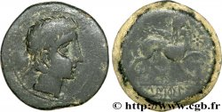 HISPANIA - IBERICO - CASTULO/KASTILO (Province of Jaen/Calzona) Unité de bronze ou as