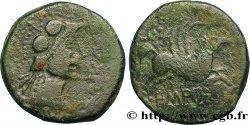 SPANIEN INDIGETES - EMPORIA / UNTIKESKEN (Provinz der Gerona - Ampurias) Unité de bronze ou as