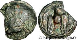 ÉDUENS (BIBRACTE, région du Mont-Beuvray) Potin à l'aigle, fragmentaire