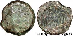 GALLIA - CARNUTES (Area of the Beauce) Bronze lourd à l'aigle et au croissant